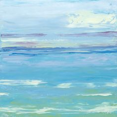 Key West View II; oil on panel #markwhite #markwhitefineart #mwfa #fineart #gallery #landscapes #oilpaint #paintings #water #reflections #santafe #newmexico #canyonroad #artist #painter