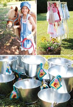 Little House on the Prairie Inspired Birthday Party