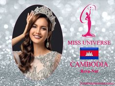 Rern Nat Miss Universe 2018 contestant banner Cambodia