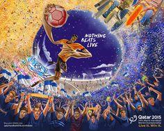 Qatar Handball 2015 on Behance
