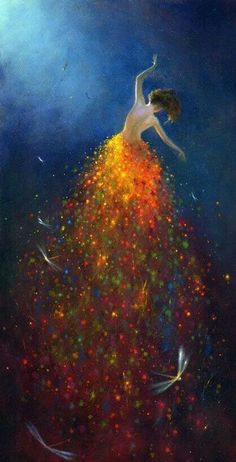 Acrylic on Board by Jimmy Lawlor. Acrylic on Board by Jimmy Lawlor. Art And Illustration, Jimmy Lawlor, Art Amour, Art Design, Love Art, Painting Inspiration, Painting & Drawing, Dress Painting, Body Painting