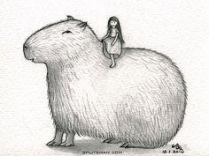 SHAN: Capybara and me...