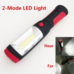 Lights & Lighting Delicious 2-mode Cob Led Flashlight Magnetic Working Folding Hook Tent Light Lamp Torch Linternas Lanterna Lamp By Aaa Battery Led Lighting