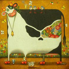 Alyona Krutogolova   Алёна и Евгений Крутоголовы      Kiev artist  Allen and  Eugene  Krutogolovy  create  his own ...