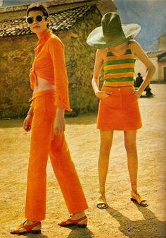 ORANGE. 1960s