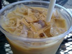 """Tired of paying big money for iced lattes? Me too, so I figured out how to make my own.  Perfect Iced Coffee"" from New Nostalgia."