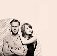 Ryan Gosling and Emma Stone: Crazy Stupid love cast Crazy Stupid Love, Damien Chazelle, Ryan Thomas, Perfect Together, Ryan Gosling, Emma Stone, Couple Posing, Movie Stars, Actor