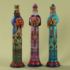 Jim Shore Christmas Pencil Nativity ~ Three Kings Pencil Figurine Set ~ 4027778 | eBay