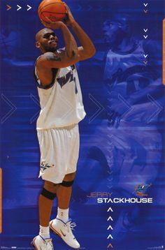 Jerry Stackhouse Washington Wizards 89542f902