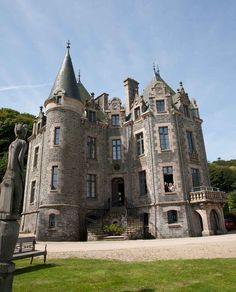 Château du Frout à Carantec en baie de Morlaix dans le Finistère (Bretagne)