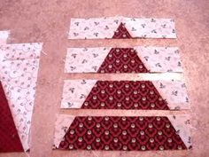 Pineapple Nine Patch  Quilt How-To, Cathy Wierzbicki, Time To Quilt.MPG