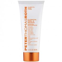 Instantly transform the appearance of skin with this intensive, anti-aging Clinical Peel & Reveal Dermal Resurfacer by Peter Thomas Roth. Three-in-one: peel with Alpha Hydroxy Acid, exfoliate with Pumpkin Enzyme, and polish with Aluminum Oxide. Peter Thomas Roth, Exfoliate Face Products, Best Skin Care Brands, Eye Make-up Remover, Skin Care Clinic, Alpha Hydroxy Acid, Flaky Skin, Facial Cleansers, Facial Skin Care