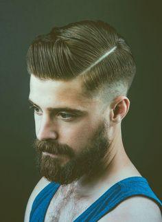 Razor Part o corte de cabelo masculino do momento Homens que se cuidam 15