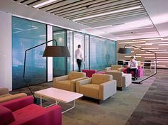 Hitch Mylius | hm46d armchairs - Royal Bank Canada, London HQ