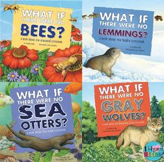 """I {heart} Recess: """"What if ?"""" Mentor Texts for the study of ecosystems."""