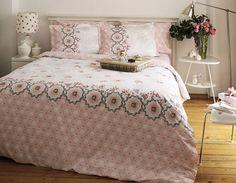 Linens Rose Coverlet