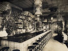 Don the Beachcomber located in the heart of Hollywood at 1727 N. In It was the first Tiki Bar in Los Angeles. Vintage Tiki, Vintage Bar, Zombie Cocktail, Tiki Bar Decor, Polynesian Resort, Tiki Lounge, Tiki Room, The Secret History, Vintage Interiors