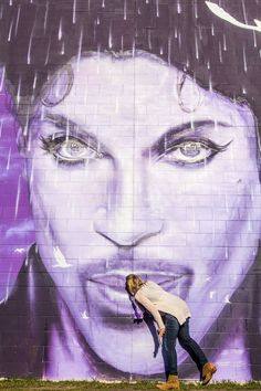 Prince mural in Minneapolis. The last stop on our Prince Tour. What an amazing experience visiting Paisley Park and learning about all the cool places Prince used to hang out at. A must do in Minnesota for music fans! Travel Usa, Travel Tips, Travel Ideas, Prince Paisley Park, Entertainment Sites, Cool Artwork, Amazing Artwork, Minneapolis Minnesota, Travel With Kids