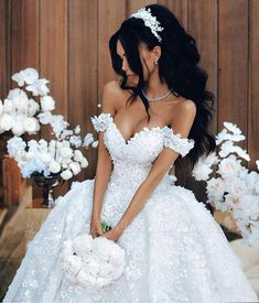 Off The Shoulder Appliques Luxury Wedding Dresses Princess Ball Gown Sexy Bride . - - Off The Shoulder Appliques Luxury Wedding Dresses Princess Ball Gown Sexy Bride Dress 2018 Luxury Wedding Dress, Dream Wedding Dresses, Wedding Gowns, Wedding Wear, Hair Wedding, Wedding Makeup, Elegant Wedding, Princess Ball Gowns, Princess Wedding Dresses