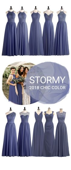Bridesmaid Dresses - Girls wear stormy bridesmaid dresses will always appear more white skin,all kinds of elegant gowns - Wedding Entourage Dress, Modest Wedding Gowns, Disney Wedding Dresses, Wedding Gowns With Sleeves, Bridesmade Dresses, Bridesmaid Dress Styles, Bridesmaid Favors, Wedding Bridesmaids, Gowns Of Elegance