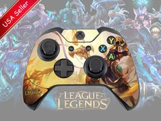Azir League of Legends Xbox One Controller Skin