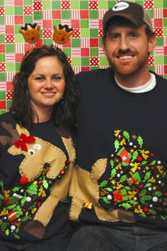 Couples Ugly Christmas Sweater