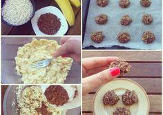 Healthy Cookies, Sweet Recipes, Cereal, Vegan, Breakfast, Food, Morning Coffee, Healthy Biscuits, Meals