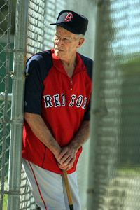 Johnny Pesky.........One of the best ball players there ever was.
