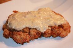 Easy weeknight comfort food- country fried cube steak