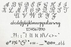 Love & Stuff - Calligraphy Font By The Pen & Brush