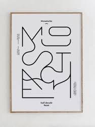 Resultado de imagen de tipografia geometrica