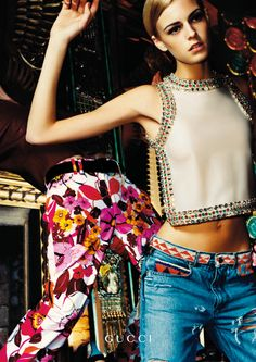 Freedom Of Design, Gucci S/S 1999 Pretty sure this is why i got that beaded belt thats been hanging around my closet