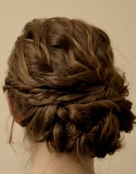 love this updo..possible wedding hairstyle but probably more centered to work with the veil