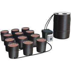 Mini hydroponics set #athome #perfect    hydroponic hydroponics aquaponics aquaculture aquaponic