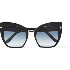 79b36e638215 TOM FORD Samantha cat-eye acetate sunglasses ( 330) ❤ liked on Polyvore  featuring