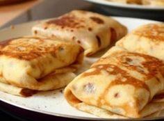 Crêpes aux épinards et jambon (Weight Watchers) 9 PP
