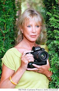 Pattie Boyd, 60s model and inspiration for the song Layla - an icon with a Nikon!