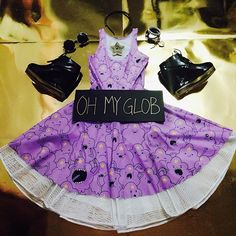 "musingsofboo:  LSP:""I'm a princess too!""#bmprincessflatlay #LSP #blackmilkclothing #adventuretime #lumpyspaceprincess #fashion #flatla..."