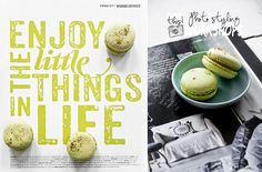 © Paulina Arcklin | We used to photo styling some pages from Vtwonen magazines. Dangerously delicious macarons are from the Poptasi Pastery Amsterdam.