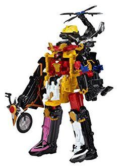 "Power Rangers Ninja Steel Mega Morph Cycle with 5"" Red Ranger Figure, Scaled Model Vehicles - Amazon Canada"