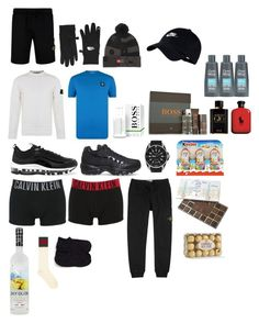 """""""Hunter Grayson xmas"""" by jslsoe ❤ liked on Polyvore featuring STONE ISLAND, The North Face, NIKE, HUGO, Giorgio Armani, Gucci, Calvin Klein Underwear, John Lewis, Nordstrom and men's fashion"""