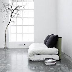 TATAMI SOFA BED: Futon + 2 Back Cushions + Tatami, really a good deal! - deco and design - Nordic Design - my-deco-shop.com (En)