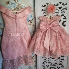 Baby Girl Dresses, Baby Dress, Flower Girl Dresses, Mother Daughter Fashion, Mother And Child, Wedding Suits, Wedding Dresses, African Print Fashion, Baby Knitting Patterns