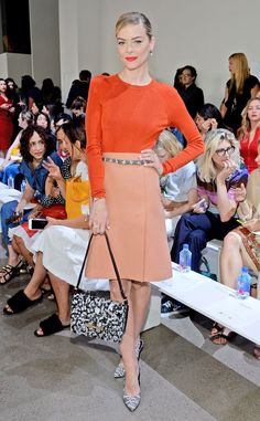 Jaime King from Stars at New York Fashion Week Spring 2016 | E! Online