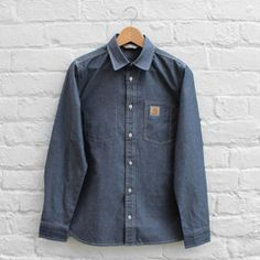 Carhartt WIP State Shirt Blue Penny