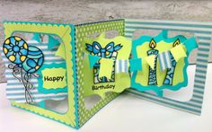 Joset van de Burgt made this card using the Accordion Fancy Label die in combination with Peel-Off stickers. You can find the instruction on how to make this card on our NEW Blog following the Link: http://wp.me/p4kQzc-3u