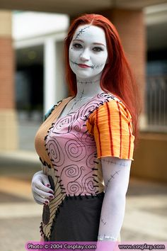 Nightmare Before Christmas was never my favorite movie, but I've definitely got to respect the quality and attention to detail on this Sally costume.