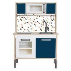Klebefolie TRIANGLIG für IKEA DUKTIG Küche