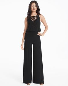 8c6912f0c413 Transcend the gown in our modern jumpsuit that can have you ever prepared  instantly. Crochet neck exhibits simply the correct quantity of pores and  ...
