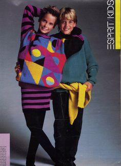 1980s •~• Esprit Kids advertisement, 1986